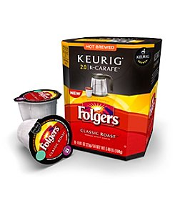 Keurig 2.0 Folgers Classic Roast Coffee 8-pk. K-Carafe Packs