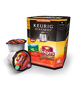 Keurig 2.0 Folgers Gourmet Selections Lively Colombian Coffee 8-pk. K-Carafe Packs