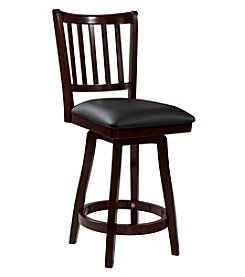 Powell® Quincy Big & Tall Slat Back Counter Stool