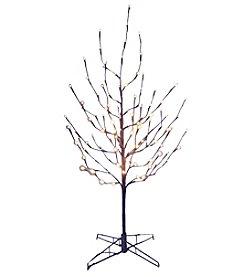 Kurt Adler Pre-Lit Twig Tree with White LED Lights
