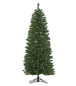 Kurt Adler Pre-Lit Winchester Pine Pencil Tree