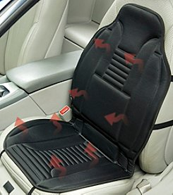 High Road Padded Heated Car Seat Cushion