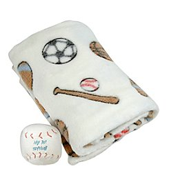 Stephan Baby Baseball Blanket