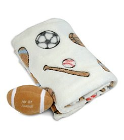 Stephan Baby Football Blanket