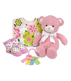 Stephan Baby Swirly Flower Gift Set