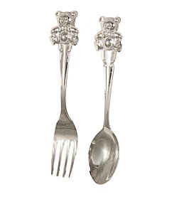 Stephan Baby Bear Fork and Spoon Set