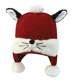 Stephan Baby Knit Fox Hat