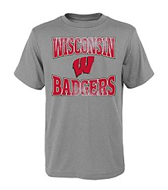 Genuine Stuff Boys' 8-20 Wisconsin Home Tee