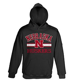NCAA® University of Nebraska Boys' 8-20 Fleece Hoodie