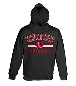 NCAA® University of Wisconsin Badgers Boys' 8-20 Fleece Hoodie