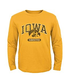 Genuine Stuff Boys' 8-20 NCAA Retro Iowa Jersey Tee