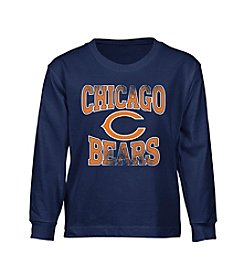 adidas® NFL® Chicago Bears Boys' 8-20 Long Sleeve Tee