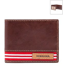 Jack Mason Men's University of Nebraska Tailgate Traveler Wallet