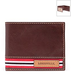 Jack Mason Men's University of Louisville Tailgate Traveler Wallet