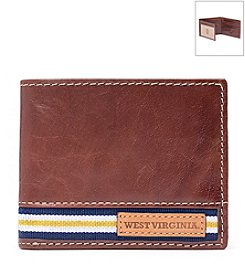 Jack Mason Men's West Virginia University Tailgate Traveler Wallet