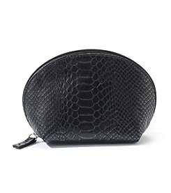 Relativity® Black & Pewter Snake Dome Pouch