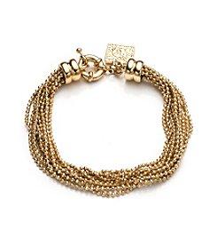 Anne Klein® Goldtone Flex Bracelet