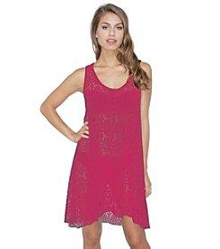 Profile by Gottex® Tutti-Fruti Crochet Dress