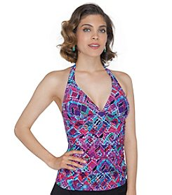 Profile by Gottex® Mardi Gras Tankini Top