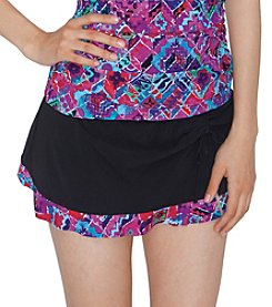 Profile by Gottex® Mardi Gras Skirted Pant