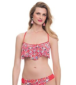 Profile Blush by Gottex® Siam Flutter D-Cup & Up Swim Top