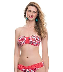 Profile Blush by Gottex® Siam D-Cup & Up Bandeau Top