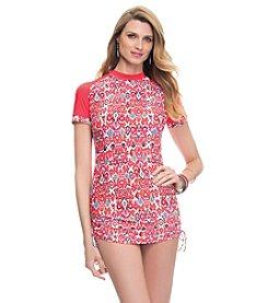 Profile by Gottex® Blush Siam Rashguard Dress