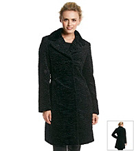 Jones New York® Persian Faux Fur Coat