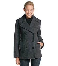 Anne Klein® Double Breasted Peacoat