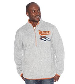 G-III Men's Denver Broncos Hail Mary Quarter-Zip Fleece Top