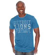 G-III Men's Detroit Lions Blitz Triblend Short Sleeve Tee