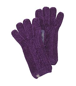 Isotoner® Signature smarTouch® Rayon Chenille Knit Gloves (Unlined)