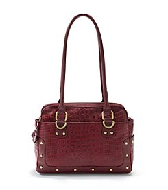 Great American Leatherworks Croco Shopper