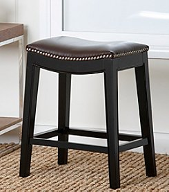 Abbyson Living� Napa Nailhead Trim Counter Stool
