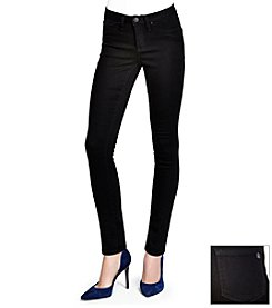 Jessica Simpson Black Kiss Me Super Skinny Jeans