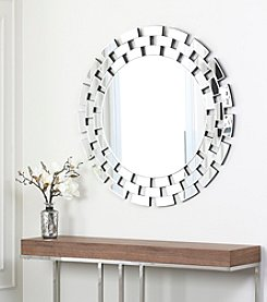 Abbyson Living® Canyon Round Wall Mirror