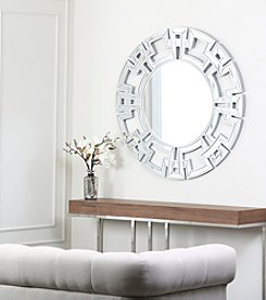 Abbyson Living® London Gold Round Wall Mirror