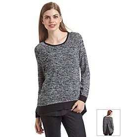 Chelsea & Theodore® Sweater With Bottom Layer
