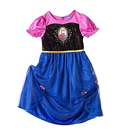 Disney® Girls' 2T-8 Frozen Anna Sleep Gown