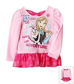 Nannette® Girls' 2T-4T Frozen Always Up For Adventure Top *