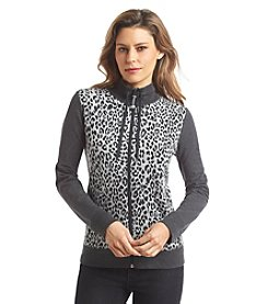 Jones New York Sport® Petites' Animal-Print Jacket