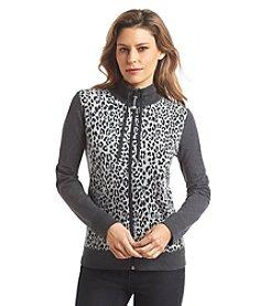 Jones New York Sport® Petites' Animal-Print Jacket