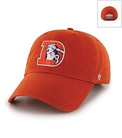 '47 Brand Men's Denver Broncos 47 Clean Up Logo Hat