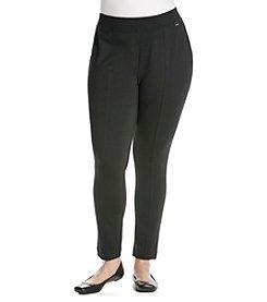 Calvin Klein Plus Size Seamed Ponte Pant