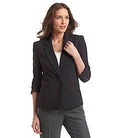 Nine West® Stretch Ruched Sleeve Jacket