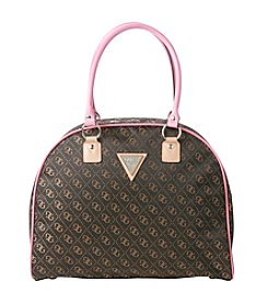 GUESS Woodhaven Dome Brown Travel Tote