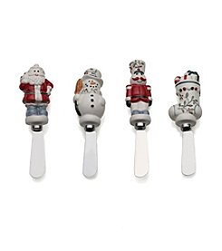 Pfaltzgraff® Winterberry Set Of 4 Spreaders