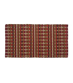 LivingQuarters Basket Weave Accent Rug