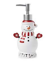 Saturday Knight, Ltd.® Let It Snow Snowman Lotion Pump