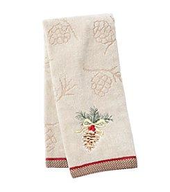 Saturday Knight, Ltd.® Heartland Pinecone Hand Towel